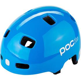 POC POCito Crane Kask rowerowy Dzieci, fluorescent blue